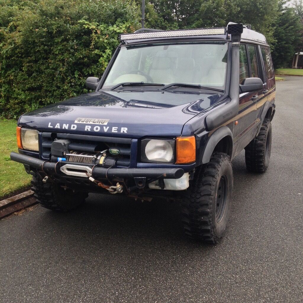 land rover discovery 2 5 td5 es leather 5st lots of extras snorkel led winch in. Black Bedroom Furniture Sets. Home Design Ideas