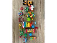 Baby toddler toy bundle sensory
