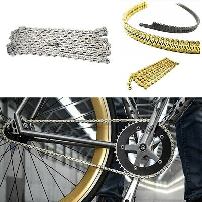 9/10/11 Chain 116 Links MTB ATB Road Mountain Bike Bicycle Silver/Gold USA