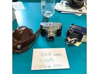 Voigtlander Vito B camera + accessories