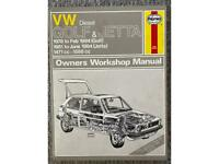 HAYNES VW GOLF & JETTA OWNERS WORKSHOP MANUAL