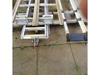 Roof rack of a citron dispatch van long wheel baze van