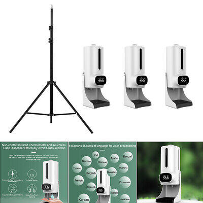 K9 Pro Plus Wall Thermometer No-contact Soap Dispenser Combo Touchless