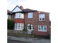 4 Bedroom Semi Detached House, Roseberry Crescent, Jesmond, NE2 1EU