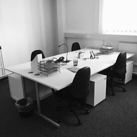 Fully Serviced 7-8 Person Office to rent in Newcastle-under-Lyme from just £10 per day
