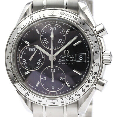 Polished OMEGA Speedmaster Date Steel Automatic Mens Watch 3513.50 BF509543