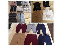 Massive bundle of baby boys clothes