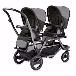 BRAND NEW!!!  BABY STROLLERS AND MONITORS UP TO 40% OFF!  PEG PEREGO DUETTE  -  MOTOROLA FOCUS360