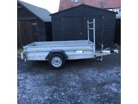 INDESPENSION 8X4 TRAILER AS NEW