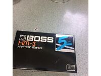 Boss Hyper Guitar Pedal