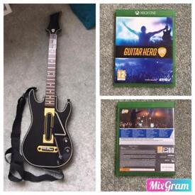 Xbox One- Guitar Hero Live