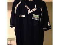 Steve Beaton personally signed winmau darts exibition shirt