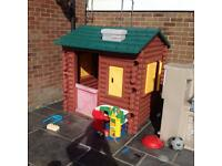 Little Tikes timber house