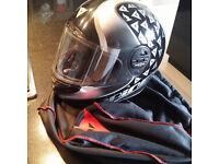 Dianese womans / kids motorcycle helmet
