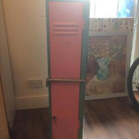Upcycled locker