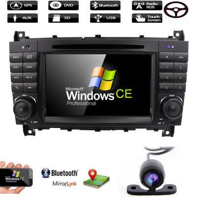 DAB+ Autoradio CD GPS für DVD BT Für Mercedes Benz C/CLK Class W203 W209 VMCD gebraucht kaufen  Filderstadt