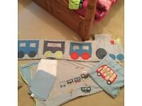 Mothercare cot bedding set