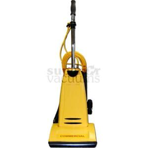 Pro Model Cpu2T Commercial Upright Vacuum With Onboard Tools Metal Handle And Bottom Plate 1 Yr Warranty 10 Amp 40' Cord