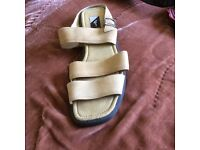 Ecco unworn strap sandals size 41. With tags