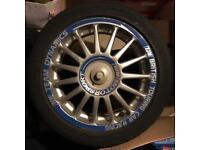 """15"""" Team Dynamics Alloy wheels 4x100 alloys Vauxhall"""