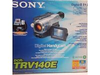 NEW Sony camcorder
