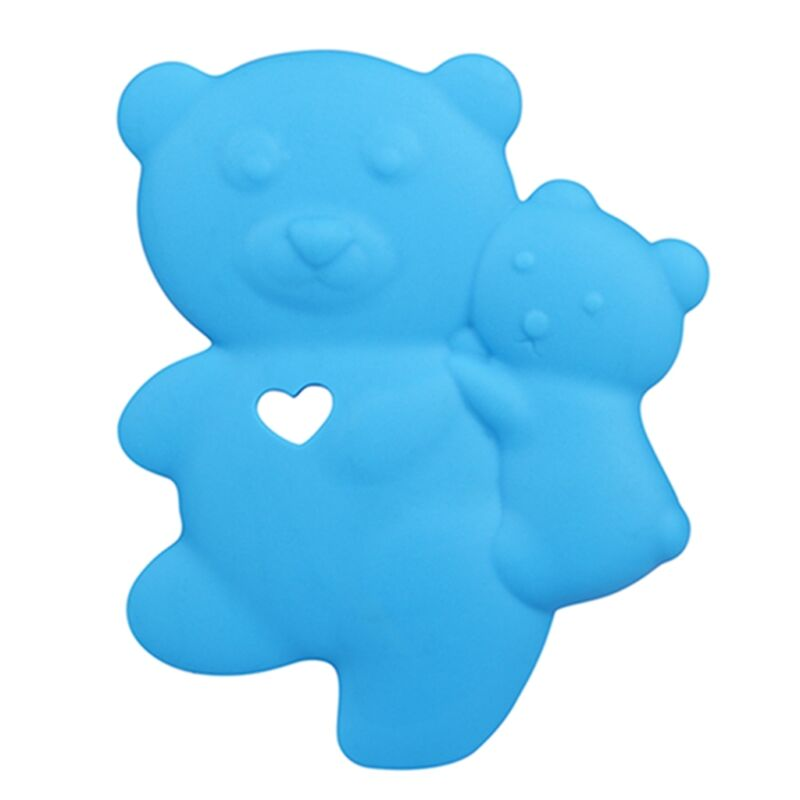 Baby Silicone Teether Teddy Bear Teething Jewelry