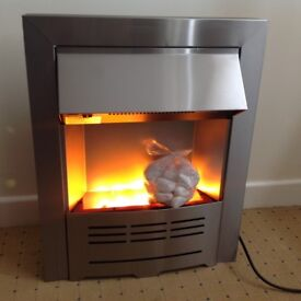 New Electric Heater ( Vigo Inset Fire) Unwanted gift from Homebase, Flame effect