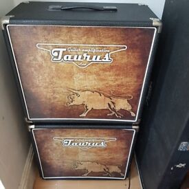 """TRADE or SALE: 2 x Taurus 112 cabs with 12"""" Jensens"""