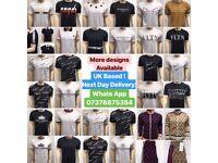 Gucci Tshirts LV Dior Louis Vuitton T-Shirts Balmain Valentino cheap Designer tshirts UK london kent