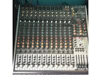 Behringer X2442 USB 16 channel mixer