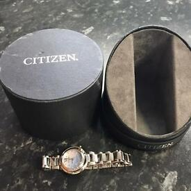 Citizen Eco Drive Sunrise Diamond Ladies Watch
