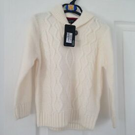 BNWT Autograph Cream Knit Jumper Age 2-3 years