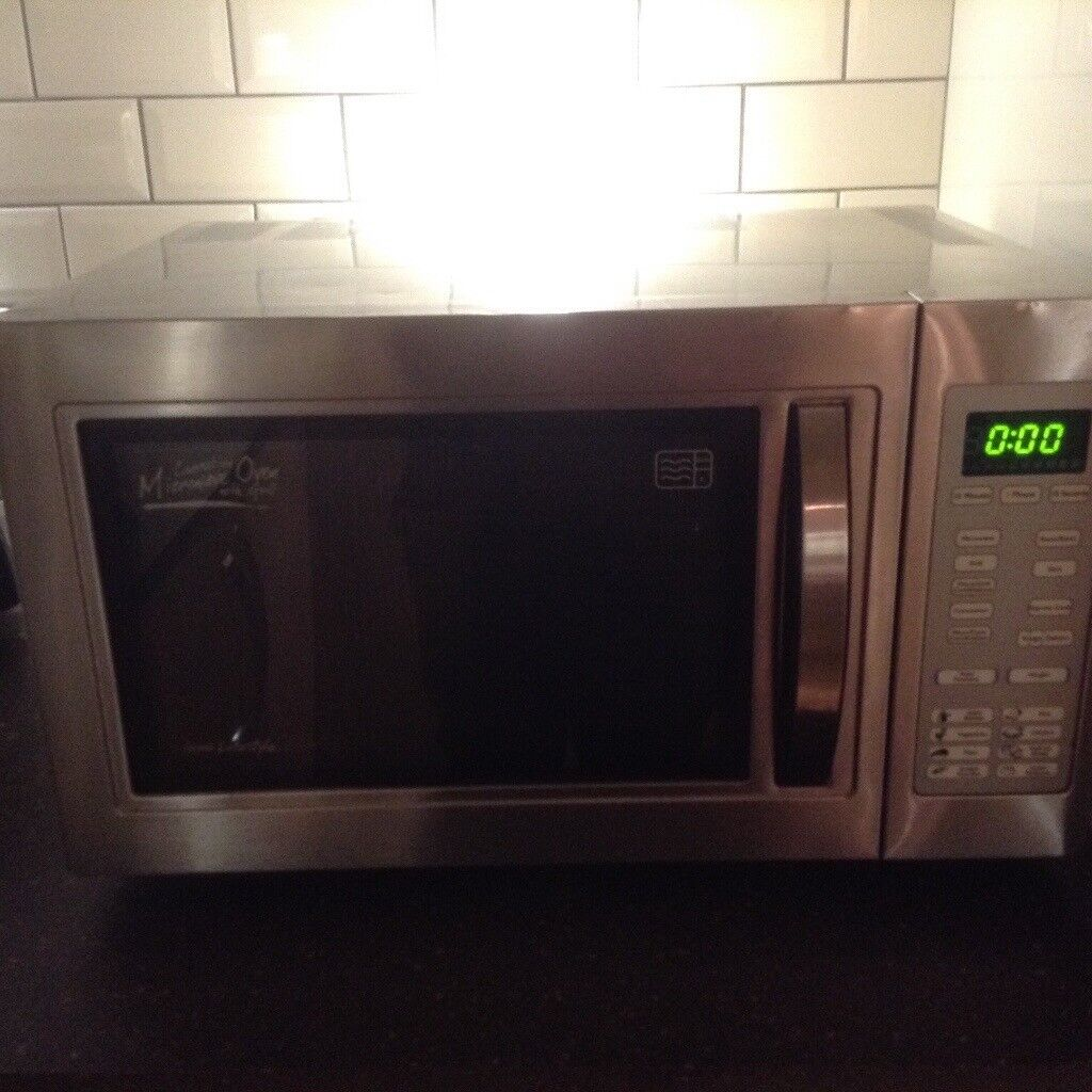 Hinari Lifestyle Microwave And Grill In Stainless Steel