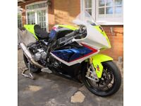 S 1000 RR BMW Parklane Racebike with V5
