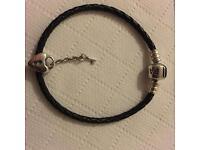 Pandora heart lock & key charm