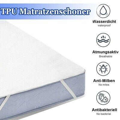 Inkontinenzauflage Matratzenschoner Matratzenauflage Waschbar Topper 160*200cm