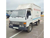 Left hand drive Toyota Dyna 150 2.8 diesel 3.5 Ton Isothermic / Cold Room box lorry.