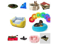 JOB LOT OF LUXURY HIGH QUALITY PET BEDS