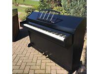 Eavestaff mini-piano Black |free delivery |Belfast Pianos |