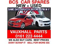 VAUXHALL PARTS MANCHESTER USED OR NEW CAR SPARES