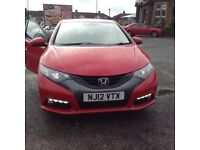 Lovely Honda Civic. Cheap tax £20 for the year