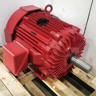 Lincoln 125 Hp 1800 Rpm Tefc 460 Volt 444t Frame Fire Pump 3 Phase Motor Lm80096