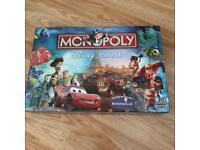 Disney pixar monopoly board game