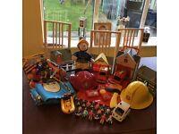HUGE FIREMAN SAM BUNDLE (over £200 of items)