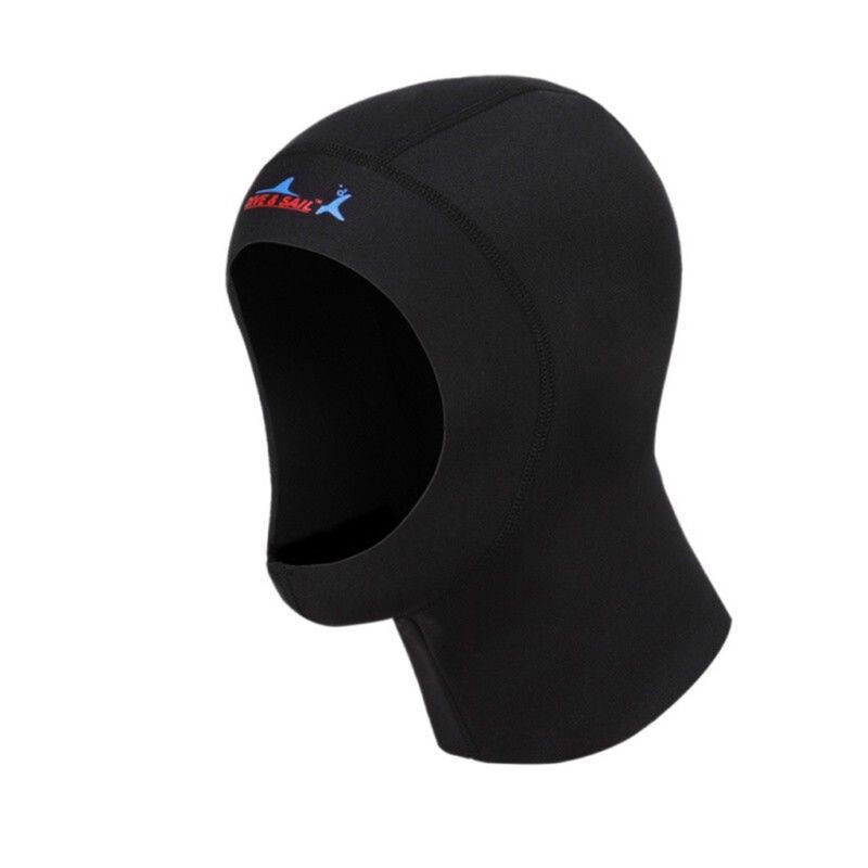 Scuba Diving Hood 3mm Cap Hat Head Neck Cover Diver Wet Suit Hoodies Unisex S_XL