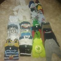 baby boy clothing lot, 3-6 months