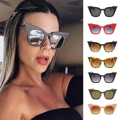 Mode Polarisierte übergroße Katzenaugen CatEye Sonnenbrille Damen