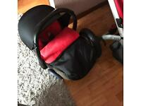 My 3 pram and Car set Maxi Cosi good condition