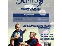 Mini Rugby Classes 3-7 year olds
