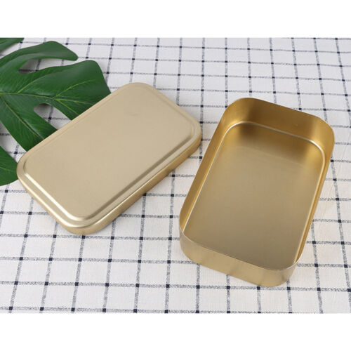 Lunch Box Bento Heated Food Aluminum Storage Container Metal